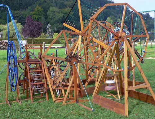 Jardin Musical en bois– Alice & Joséphine (FR)